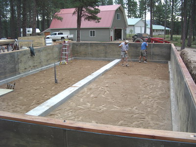Foundation and footings for Crawl space foundation design
